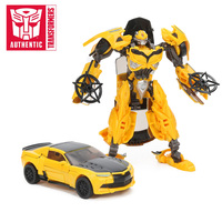 Transformers Toys The Last Knight Premier Edition Bumblebee Barricade Dinobot Slash Berserker Action Figures Collection Model