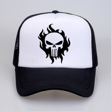 The Punisher Baseball Caps summer Women Men US Printed Skull Snapback Hats Skeleton Sniper Tactical Hat Cap