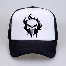 The Punisher Baseball Caps summer Women Men US Printed Skull Snapback Hats  Skeleton Sniper Tactical Hat Cap b2642c7c6b52