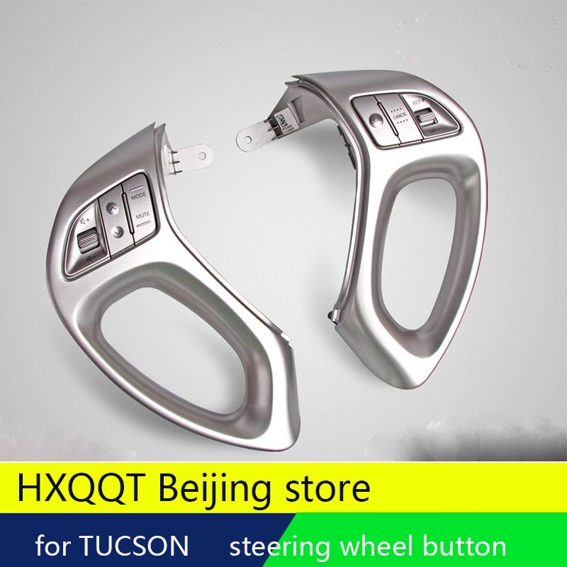 Genuine Original Steering Wheel Multi-function Button Button Music Switch Cruise Speed Button For Hyundai Ix35 TUCSON 2010-2015