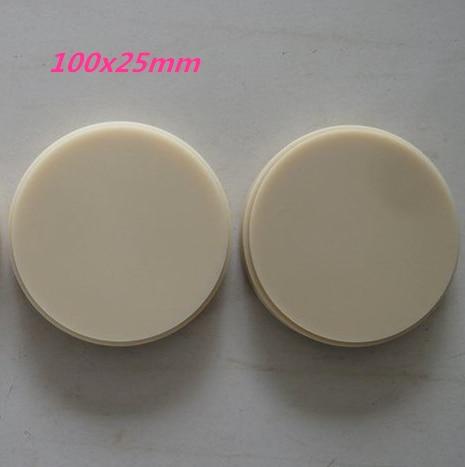 100x25mm Стоматологические Dentmill САПР Кэм ПММА,А3.5 В1 В2 В3 В4 С1 С2 С3 С4 Д1 Д2 Д3 Д4,16 тень материал