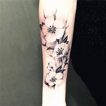 2PCS/LOT Waterproof Temporary Tattoo Henna Tattoo Sticker Transferable Temporary Tattoo Set