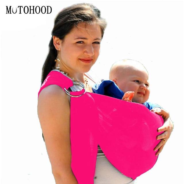 Motohood Saddle Baby Backpack Water Beach Baby Sling Metal Ring