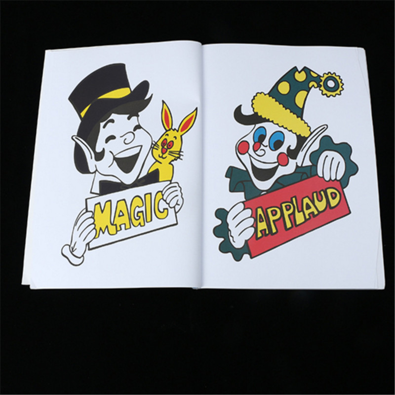 hey funny free shipping fun magic coloring book magic tricksmentalismsatage magic props magic accessories gimmicks in magic tricks from toys hobbies on - Coloring Book Magic Trick