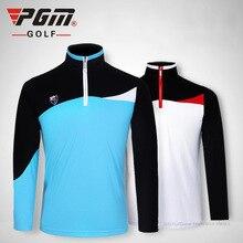 PGM new Golf mens POLO shirts 2017 high quality long sleeve sports golf t shirt remeras de golf clothing plus breathble apparel
