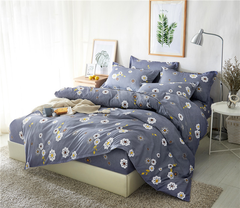 Best Wensd Flower California King Bedding Sets Bed Cover Bedspread