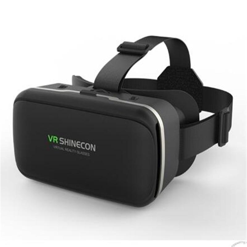 XINGDOZ G04 VR Shinecon Pro Virtual Reality 3D Glasses VR Google Cardboard Headset Box Head Mount for 4-6' Mobile Phone N20C vr очки shinecon g 01 для смартфонов с диагональю 4 7 6 дюймов
