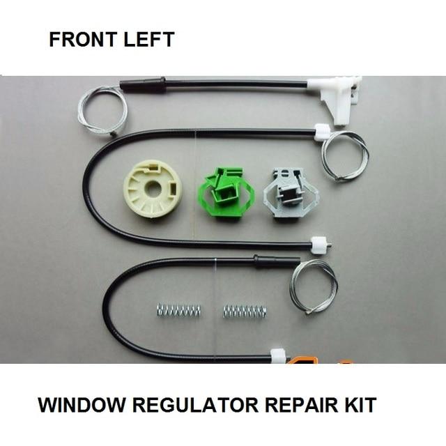 CAR WINDOW CLIPS KIT FOR SEAT IBIZA MK II WINDOW REGULATOR REPAIR KIT FRONT LEFT NEW SET 1993-1999