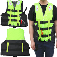 Halong Wind Unisex Polyester Swimwear Jacket Life Vest Colete Water Sports Swimming Drifting Surfing Clothing