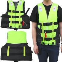 Halong Wind Unisex Polyester Swimwear Jacket Life Vest Colete Water Sports Swimming Drifting Surfing Clothing