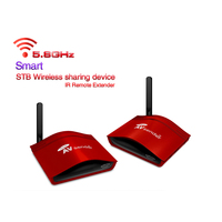 5.8G AV Wireless Transmitter Receiver IR Remote up to 300m Wireless Sharing Device Extender