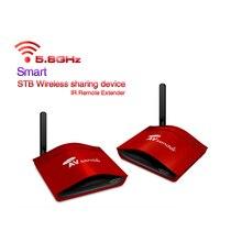 5.8G AV Wireless Transmitter Receiver IR Remote up to 300m W