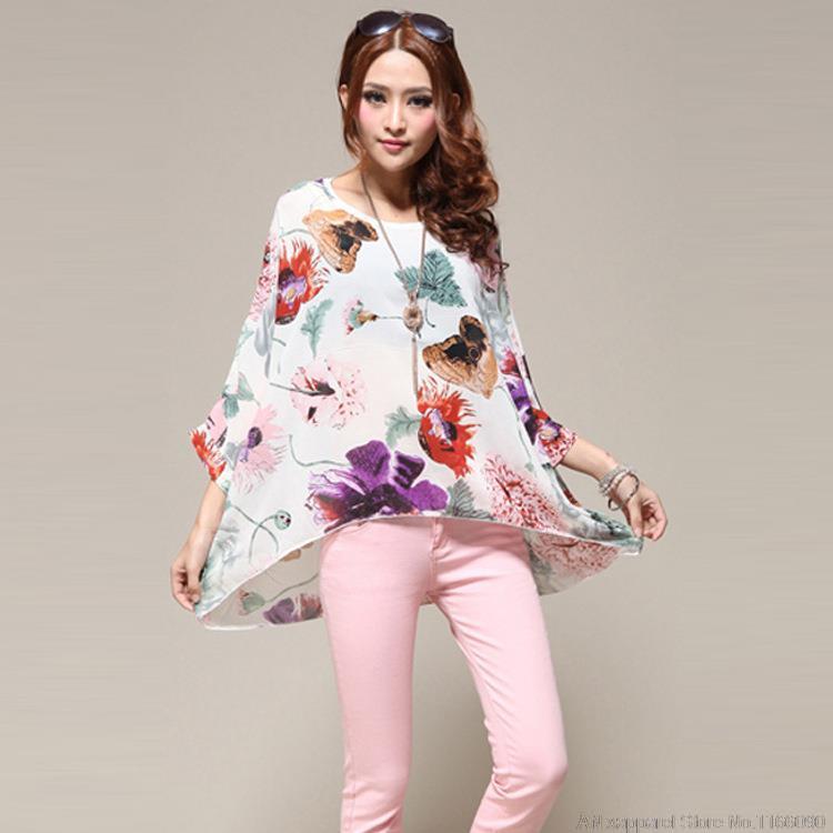 US $22.44 |Chiffon fat lady Dress Plus Size Mature Women clothing Casual  Dresses Uk summer Dress 2015 on Aliexpress.com | Alibaba Group