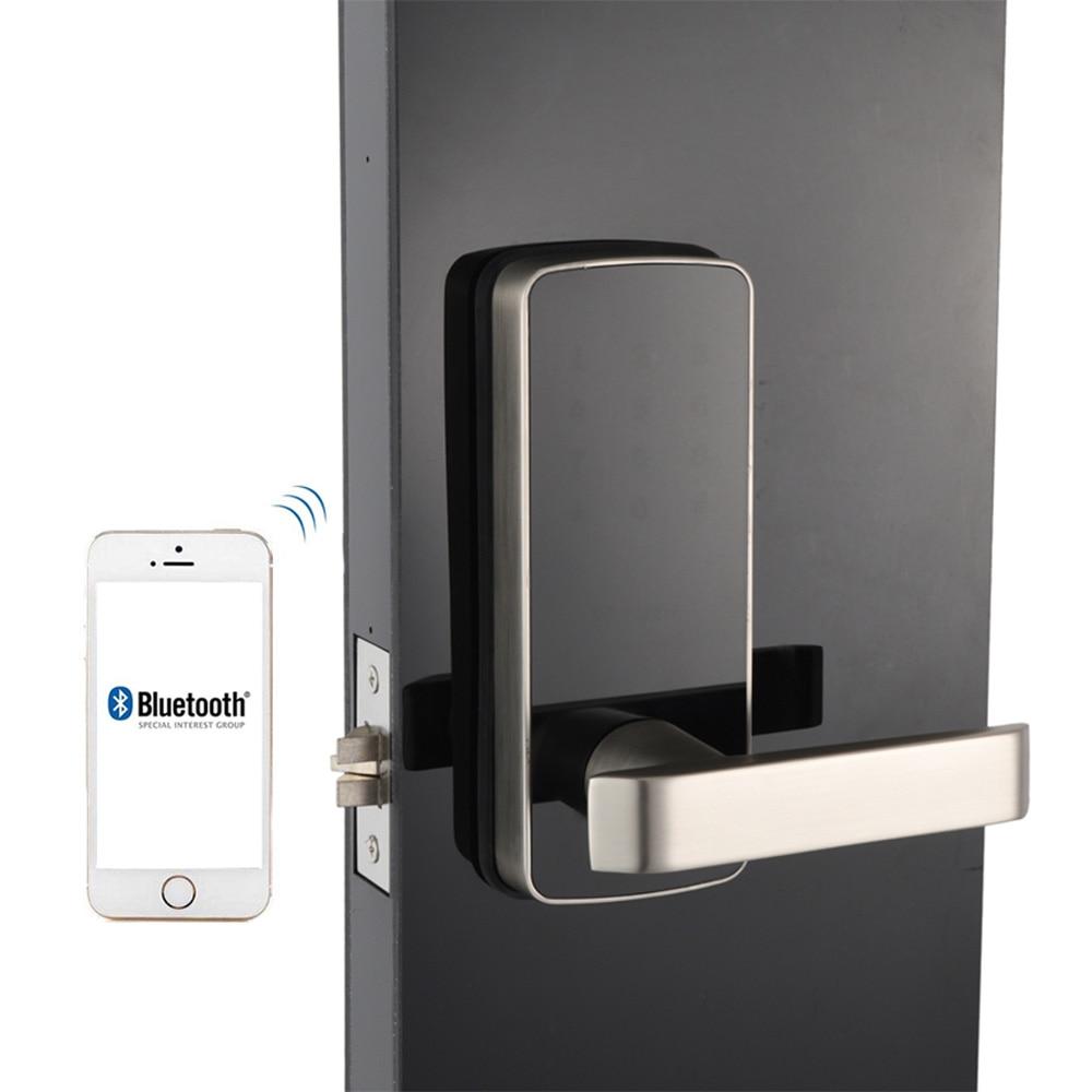 WiFi цифровой электронный умный дверной замок приложение, умный дом мобильный телефон приложение умный Bluetooth клавиатура пароль дверной замок