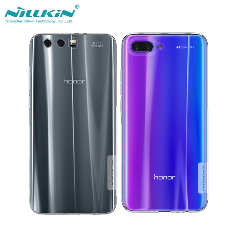 Huawei Honor 10 Case Nillkin Nature Series Transparent Clear Soft TPU Case for Honor 10 9 8 Silicon Back Cover