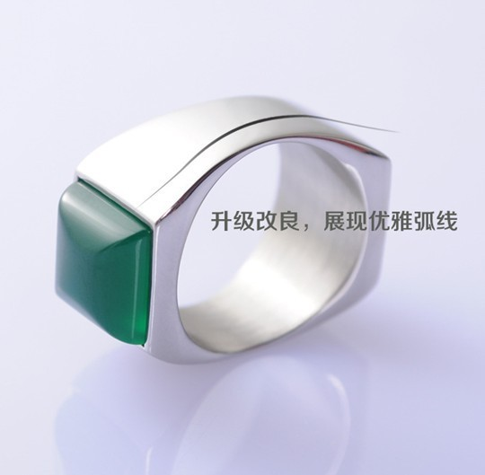 New arrival super magnetic ring king of ring magic ring green 21mm