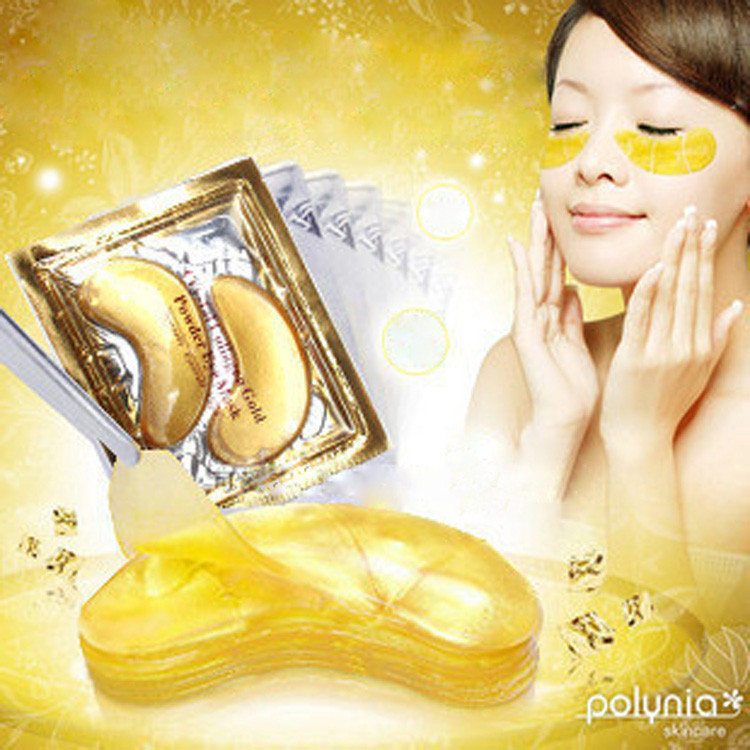 10Pairs Eye Mask Gold Crystal collagen Eye Masks Anti-Puffiness Dark Circles Anti Aging Moisturizing Eye Care 2