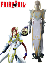 Envío Gratis Fairy Tail Erza Scarlet Rayo Emperatriz Armor Anime Cosplay Costume