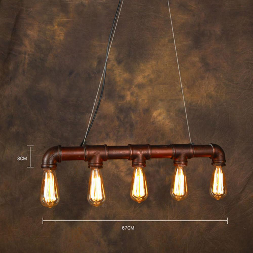 Vintage pendant light american industrial edison lamp water pipe vintage pendant light american industrial edison lamp water pipe style e275pcs art luminaire decoration bar restaurant lighting in pendant lights from arubaitofo Image collections