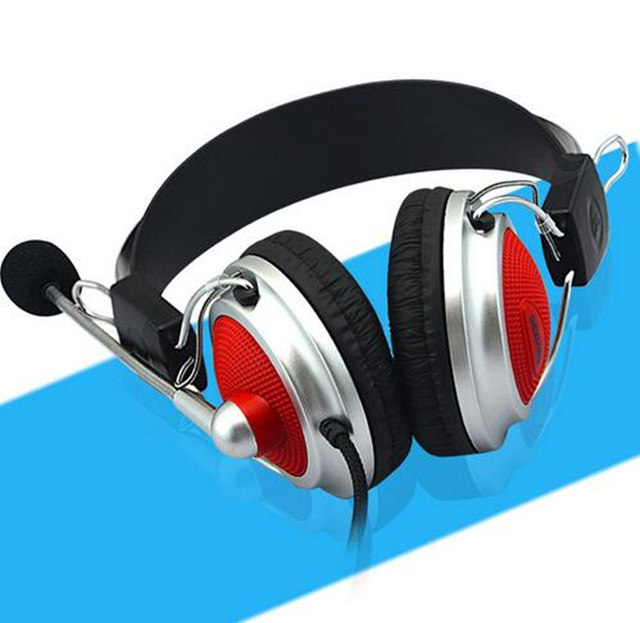 High Quality Stereo Bass Computer Gaming Headset Headphone Earphone With Microphone For PC Phone Computer Game for Skype Gaming