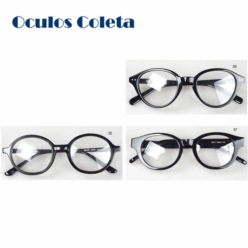 f5ad94137ba Detail Feedback Questions about Old school glasses frames round retro  pantos designer eyeglasses top quality havana acetate on Aliexpress.com