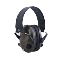 TAC 6S Foldable Design Anti Noise Noise Canceling Tactical Shooting Headset Soft Padded Electronic Earmuff for Sport Hunting New