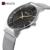 AFFUTE Moda Casual Malha de Aço Inoxidável Dos Homens Relógios Top Marca de Luxo Relógio de Quartzo Vestido Relógio Relogio masculino Reloj Hombre