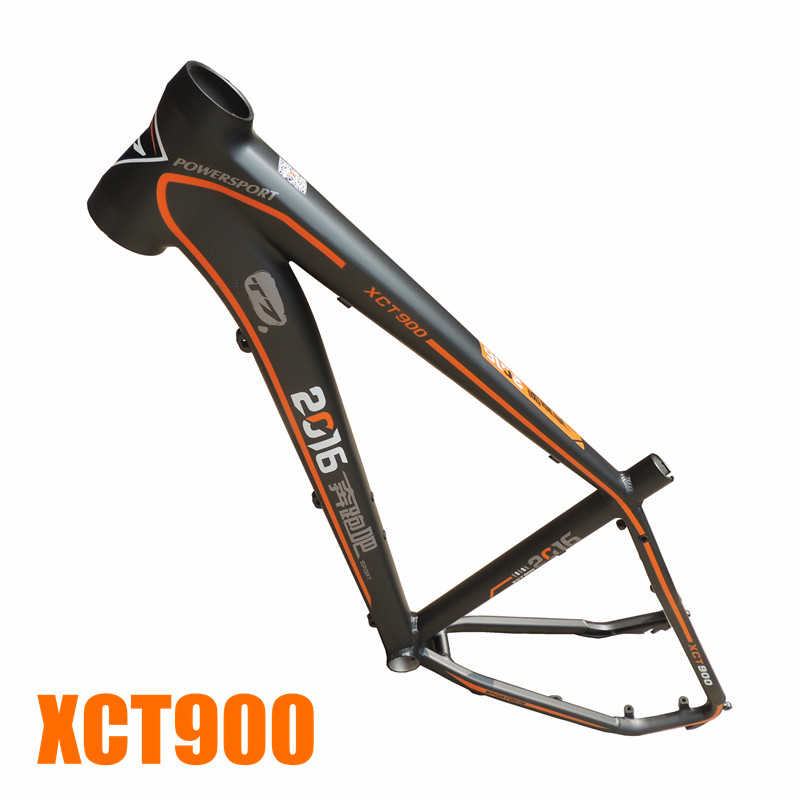 xct900 T7 aluminum alloy matte 26 16 tapered mtb bicycle frame giza ghost 3 mtb bicycle 6061 aluminum alloy frame 26 wheel 16