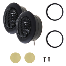 2pcs 150W Car Horn Dome Tweeter Speaker Audio Loudspeaker Car Lound Speaker Car Stereo Treble Speaker for Cars Vehicle Auto aiyima 1pc 4inch audio portable speaker 8ohm 80w tweeter loudspeaker diy stage speaker horn treble home theater