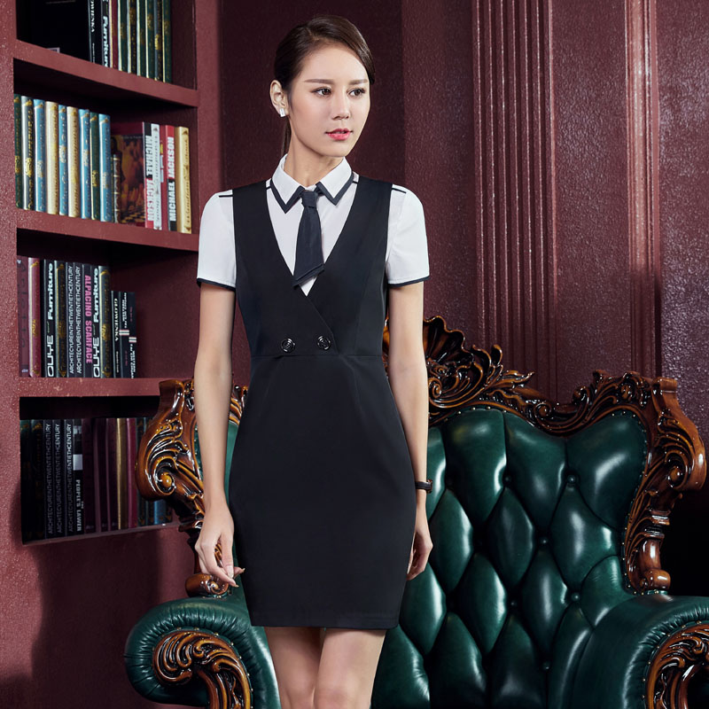 New Fashion Summer Work Wear Suits With Blouse And Dress For