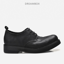 dreambox Mens leather shoes mens fashion and bulk casual retro warped head