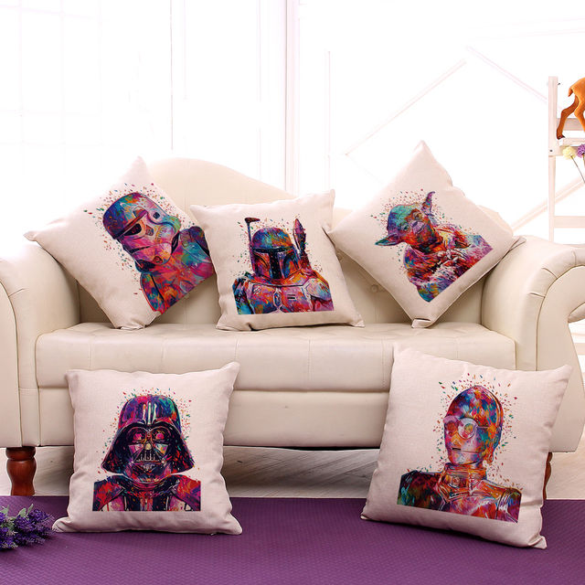 45*45cm Star Wars Pillow Cover