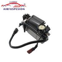 Air Compressor Pump for Audi A8 D3 4E Quattro Air Suspension Pump 4E0616007B 4E0616005F 4E0616005D 2004-2010