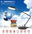 2015 горячая распродажа из светодиодов настольная лампа 12 Вт 60 СМД панели диммирования настольные светильники складной с металлической основе ночного видения чтение освещение