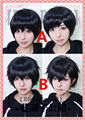 Six Same Faces Konya wa Saikou Mr Osomatsu San Matsuno Short Black Styled Heat Resistant Wig Cosplay Hair Wigs