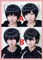 Six Same Faces Konya wa Saikou Mr Osomatsu San Matsuno Short Black Styled Heat Resistant Wig Cosplay Hair Wigs
