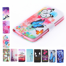 Luxury Two Side Painting Wallet Phone Cover Rose Flower Tower Top Flip Leather Case For Meizu M2 M3 M3s M5s Mini M3 M5 Note U10