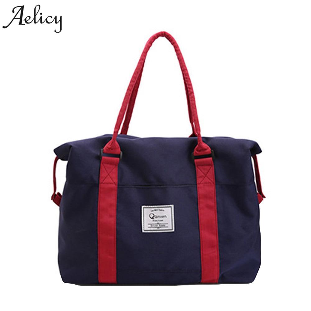 Aelicy Fashion Casual Tote Bags Women's Brand Handbag Oxford Large Tote Shoulder Bag For Shopping Female Handbag цена 2017