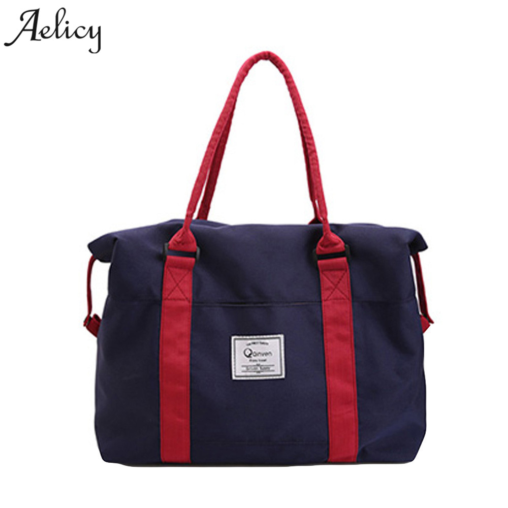 Aelicy Fashion Casual Tote Bags Women's Brand <font><b>Handbag</b></font> <font><b>Oxford</b></font> Large Tote Shoulder Bag For Shopping Female <font><b>Handbag</b></font>