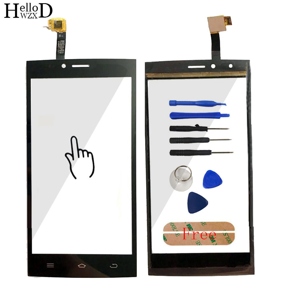 5.0 Mobile Phone For DEXP Ixion ES2 Touch Screen Glass Front Glass Digitizer Panel Lens Sensor Flex Cable Tools Adhesive