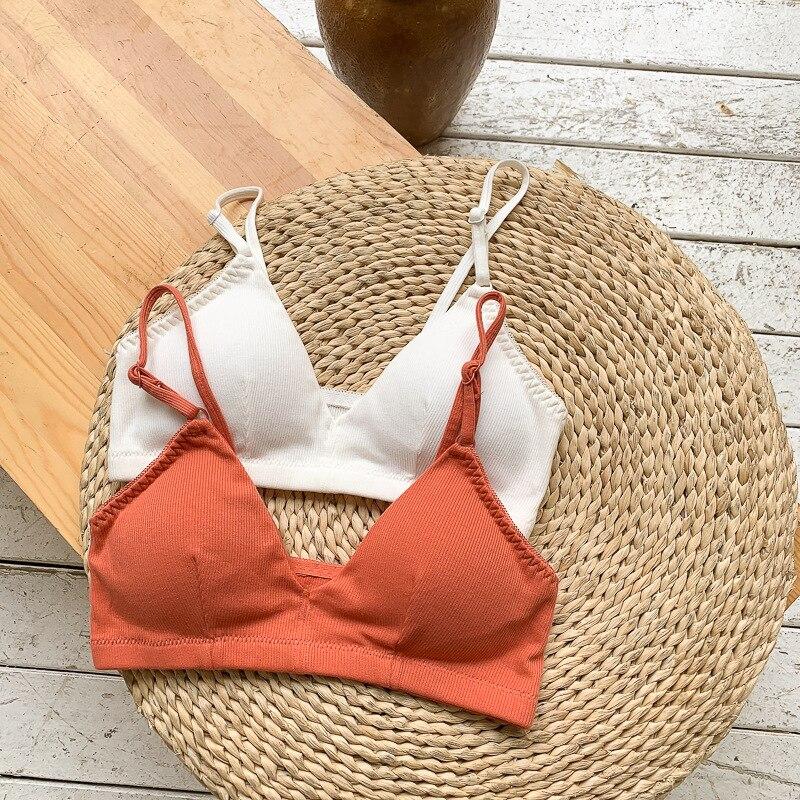 Summer Push Up Bra Top Fitness Tops Brassiere Women Tube Tops Bralette Female Lingerie