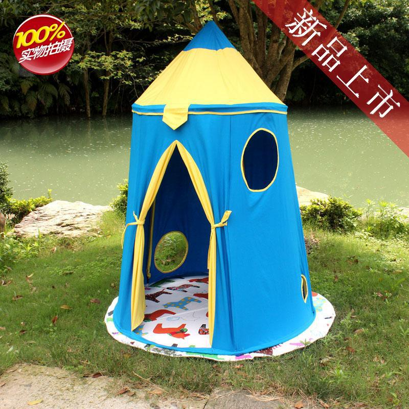 Teepee Tent Tipi for kids blue Children Play house Toy Kids big Tents baby room  Indoor Outdoor Play  Folding princess girls pink stripe toy play tent house fashion baby room decoration kid play tent indian teepee tent toys 120 120 150cm
