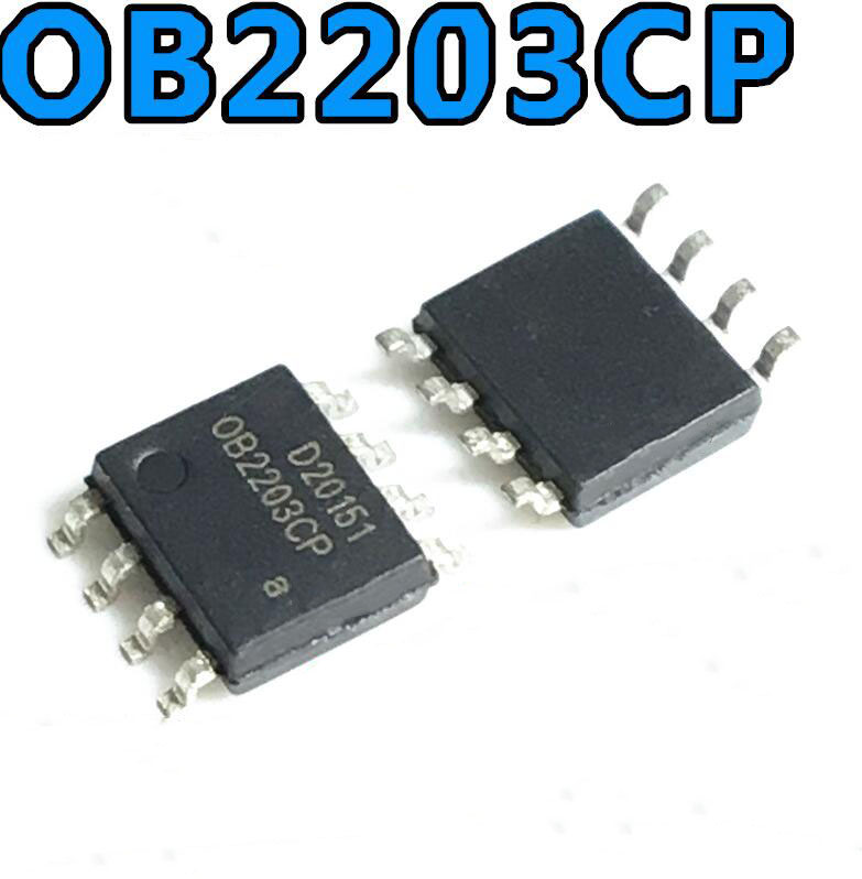 20PCS <font><b>OB2203CP</b></font> ( IC ) OB2203C / OB2203 , SOP-8 Package , New and Original (OB2203CPA) image