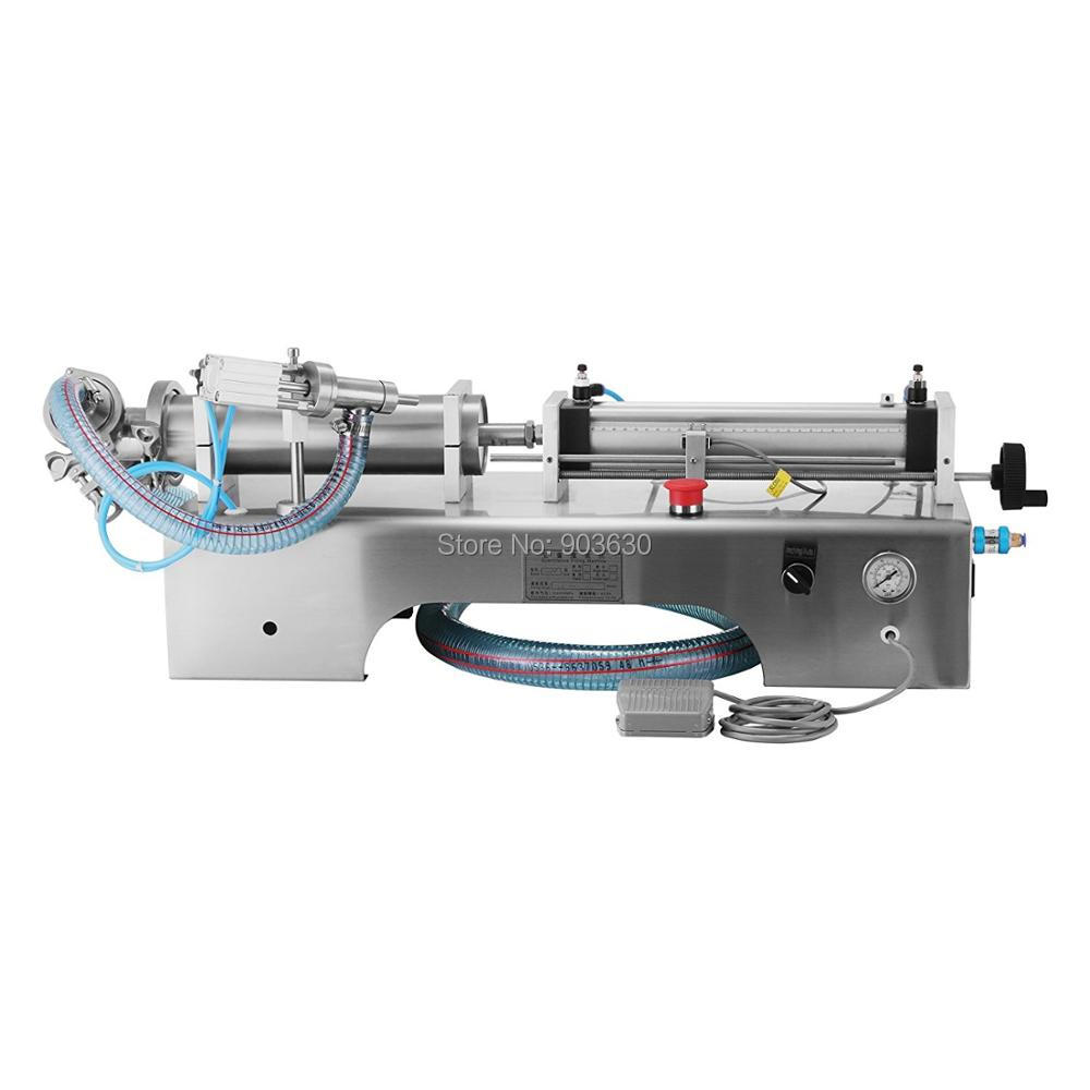 High Quality Single Head pneumatic filling machine,semi automatic filling machine,machines for shampoo honey cosmetic filling