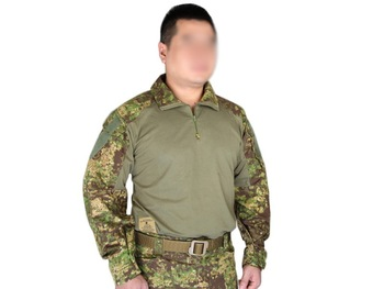 Men Army Military Tactical Shirt Airsoft Paintball Shooting BDU Shirt Combat EMES Gen3 Shirt GZ/BL/SS