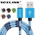 VOXLINK 5 В 2A Быстрое Зарядное Устройство Кабели Мобильного Телефона Молния в USB Зарядное Устройство Кабель для передачи данных для iPhone 7 6 s plus 5 5S iPad Air iPod