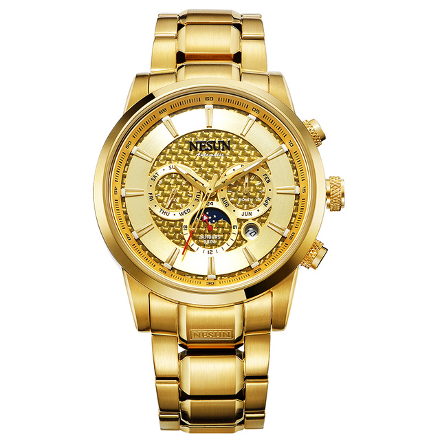 Luxury Brand NESUN Watch Multifunctional Display Automatic Self-Winding 1