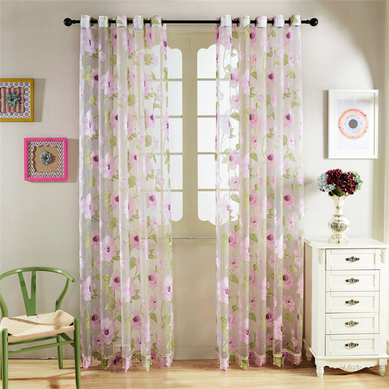 2016 Cafe Kitchen Curtains Voile Window Blind Curtain Owl: Popular Sheer Window Treatment-Buy Cheap Sheer Window Treatment Lots From China Sheer Window