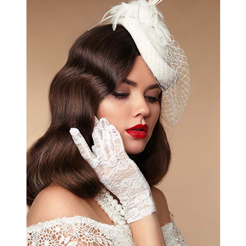 Tea Party Derby Retro 1920s Style Gloves