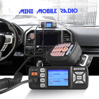 Baojie BJ 318 Mini Mobile radio 10km Dual Band Mobile walkie talkie 10W mobile car Transceiver VHF/UHF with Scrambler function